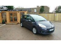 *****PRICE DROP*****57 REG CITROEN GRAND C4 PICASSO 7 SEATER 1.8i 16v VTR+