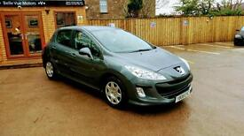 2008 PEUGEOT 308 1.6HDI ( 110bhp ) FAP 6 SPEED S IN GREY