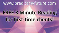Psychic Readings, Phone Readings, Chat or Email Readings. FREE!