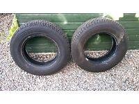 Michelin Latitude Cross Tyres - Pair