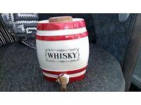 vintage crown devon whiskey barrel