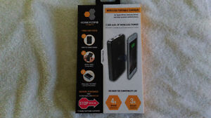 Honeycomb Charge on Wireless Portable Charger for I Phone Samsun