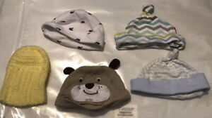 ASSORTED BABY HATS NB-9 MONTHS