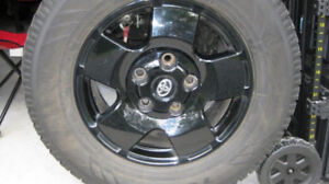 Toyota Tundra/Sequoia wheels  and winter tires 275 65 18