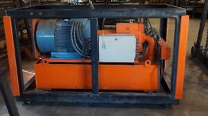 50HP Motor with Hydraulic Pump