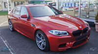 BMW M5 ORANGE/ B&O/ LED/ S-CLOSE/ SURROUND/ HUD/ 20