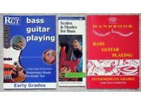 Bass Guitar Tuition Books