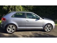 Audi A3 | 2.0 TDI | SE | Akoya Silver | Three Door | 140 bhp