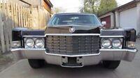 """1969 Cadillac fleetwood """"hardtop"""""""