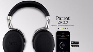 Parrot ZIK 2.0 Wireless Bluetooth Headphones - $250