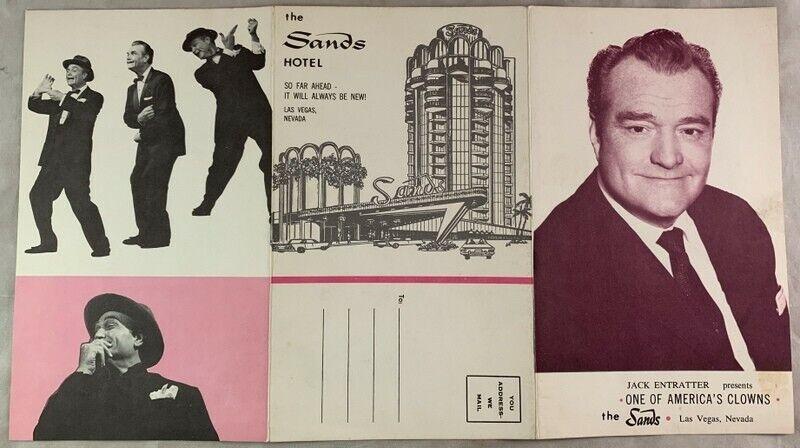 1960s Red Skelton Brochure The Sands Casino Las Vegas Nevada