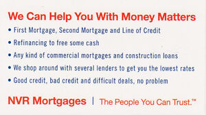 1st /2nd Mortgage-New Home/Refinance-Guaranteed approval-95% LTV Peterborough Peterborough Area image 2
