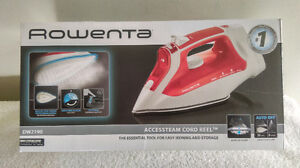 Rowenta Accessteam Cord Reel.Colour Red Iron. New in Box