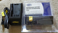 yardworks battery 24v and charger 18-24v