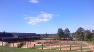HORSE FENCE...All Types of livestock, equine and farm fence, Kawartha Lakes Peterborough Area image 7