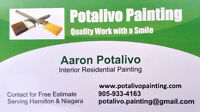 Potalivo Painting - Interior Residential Painting Services