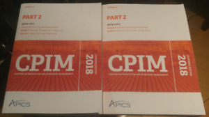 CPIM 2018 Part 2 Learning System + Textbooks
