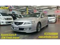 2006 Honda Accord Euro R (CL7) exclusively for You Saloon Petrol Manual