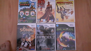 Augmente ta collection ! Jeux wii