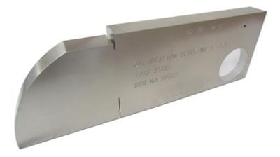 Yushi Steel Standard Calibration Block For Ultrasonic Flaw Detector Metric No 1