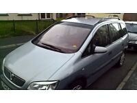 Vauxhall zafira 7 seater for sale £350 ono