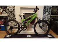 kids apollo xpander mountain bike