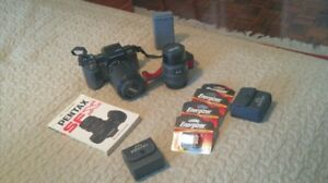 Complete Pentax SF! Film Camera Kit in Pristine Condition
