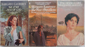 3 Margaret Laurence novels — by the great Canadian author