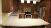 Best Whole Package Offer For Solid Wood Cabinets & Stone Tops