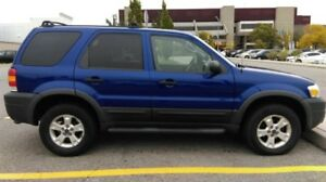 2006 Ford Escape XLT with Winter Tyres