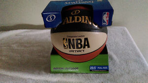 Spalding Composite Leather NBA Instinct 29.5 Full Size-Indoor/Ou