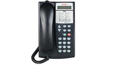 Fully Refurbished Avaya Partner Eurostyle 6d Display Phone Black
