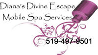 Mobile Spa(inhome) Seniors Services -Nails/hair/facials/waxing