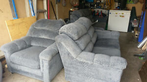 matching sofa,love seat and chair $325.00 519-502-1370