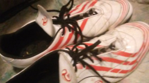 Mens adidas F10 cleats size 13