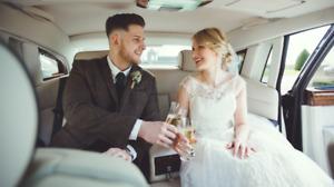 WEDDING LIMO LIMOUSINE RENTAL - ROLLS ROYCE PHANTOM