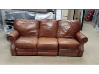 THREE SEATER LEATHER SOFA. Free delivery!!!