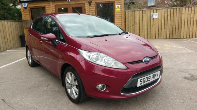 2009 ford fiesta 1 4tdci zetec 5 door purple in brampton. Black Bedroom Furniture Sets. Home Design Ideas