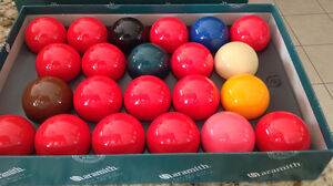 Premier Aramith Snooker Balls - The Belgian Billiard Balls