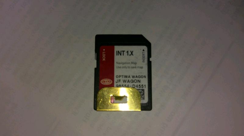 Kia Optima Sat Nav SD card | in Oldham, Manchester | Gumtree