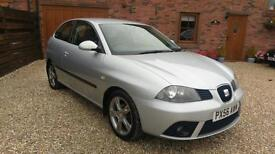 56 REG SEAT IBIZA 1.4 16V SPECIAL EDITION DAB IN SILVER