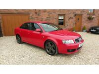 AUDI A4 1.8T QUATTRO S LINE 6 SPEED RED