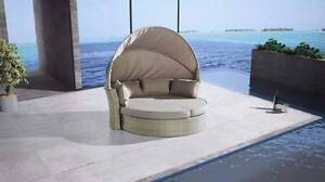 Outdoor Furniture BONDI Day Bed Sofa Retractable Canopy - Modern Berwick Casey Area Preview