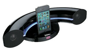 Sylvania SIP351 Black Speaker Dock for iPod/iPhone