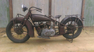 INDIAN MOTORCYCLE PROJECT PARTS WANTED 1930'S TO 1960'S