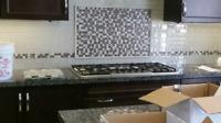 BACK-SPLASH Installation from $249 / GAZEBO Assembly $199 GTA