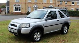 LAND ROVER FREELANDER 2.0 TD4 HARDBACK 2004 FULLY LOADED FSH 1YEAR MOT RECENT SERVICE MINT IN/OUT
