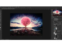 ADOBE PHOTOSHOP, ILLUSTRATOR, INDESIGN CC 2017,etc... PC/MAC