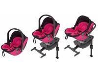 Kiddy Evo Lunafix Baby Car Seat with Isofix Base used
