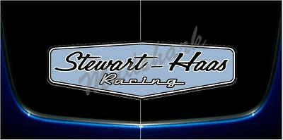 STEWART HAAS RACING, 2018 DESIGN, PRINTED VINYL DECAL STICKER NASCAR 2.8 x (Racing Design)